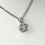 Fehér arany gyémánt nyakék (Au844GT)
