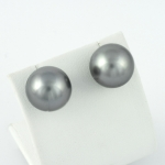 Fehér arany tahiti gyöngy fülbevaló (Au2248GT)