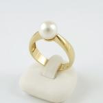 Arany gyűrű gyönggyel (Au1721GT)