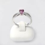 Fehér arany gyűrű turmalinnal (Au831GT)