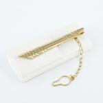 Arany nyakkendő csipesz