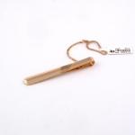 Arany nyakkendő csipesz (Au2384GT)