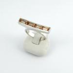 Ezüst gyűrű (Ag329GT)