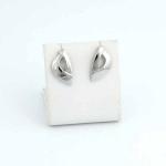 Fehér arany fülbevaló (Au1360GT)