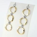 Donna Oro gyémánt fülbevaló (Au901GT)