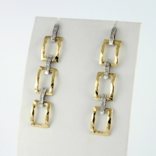 Donna Oro gyémánt fülbevaló (Au904GT)
