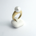 Golay arany gyűrű gyönggyel (Au2338GT)