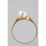 Golay arany gyűrű gyönggyel (Au492GT)