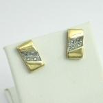 Arany gyémánt fülbevaló (Au1275GT)