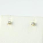 Arany gyémánt fülbevaló (Au1283GT)