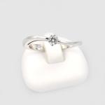 Fehér arany gyémánt gyűrű (Au410GT)