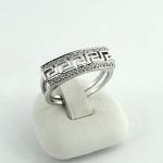 Fehér arany gyémánt gyűrű (Au328GT)