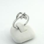 Fehér arany gyémánt gyűrű (Au416GT)