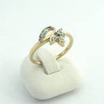 Arany gyémánt gyűrű (Au417GT)