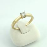 Arany gyémánt gyűrű (Au425GT)