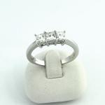 Fehér arany gyémánt gyűrű (Au429GT)