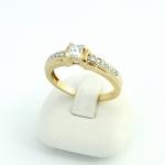 Arany gyémánt gyűrű (Au430GT)