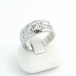 Fehér arany gyémánt gyűrű (Au439GT)