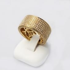 Arany gyémánt gyűrű (Au440GT)