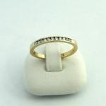 Arany gyémánt gyűrű (Au574GT)
