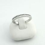 Fehér arany gyémánt gyűrű (Au576GT)