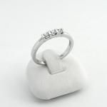 Fehér arany gyémánt gyűrű (Au582GT)