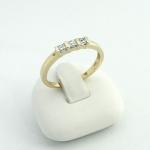 Arany gyémánt gyűrű (Au589GT)