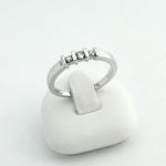 Fehér arany gyémánt gyűrű (Au593GT)