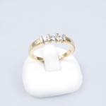 Arany gyémánt gyűrű (Au594GT)