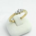 Arany gyémánt gyűrű (Au600GT)
