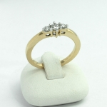 Arany gyémánt gyűrű (Au599GT)