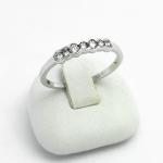 Fehér arany gyémánt gyűrű (Au603GT)