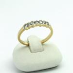 Arany gyémánt gyűrű (Au604GT)
