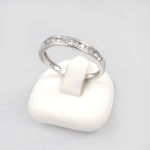 Fehér arany gyémánt gyűrű (Au606GT)
