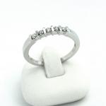 Fehér arany gyémánt gyűrű (Au611GT)
