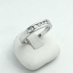 Fehér arany gyémánt gyűrű (Au617GT)