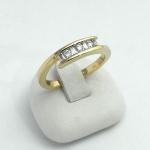 Arany gyémánt gyűrű (Au630GT)