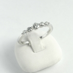 Fehér arany gyémánt gyűrű (Au634GT)