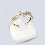 Arany gyémánt gyűrű (Au638GT)