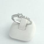 Fehér arany gyémánt gyűrű (Au640GT)