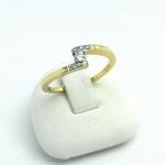 Arany gyémánt gyűrű (Au647GT)