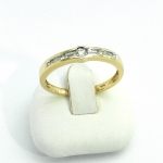 Arany gyémánt gyűrű (Au665GT)
