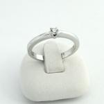 Fehér arany gyémánt gyűrű (Au687GT)