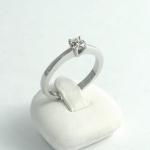 Fehér arany gyémánt gyűrű (Au691GT)