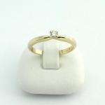 Arany gyémánt gyűrű (Au698GT)