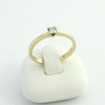 Arany gyémánt gyűrű (Au711GT)