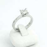 Fehér arany gyémánt gyűrű (Au765GT)