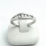 Fehér arany gyémánt gyűrű (Au622GT)