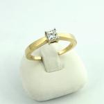 Arany gyémánt gyűrű (Au789GT)