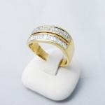 Arany gyémánt gyűrű (Au791GT)